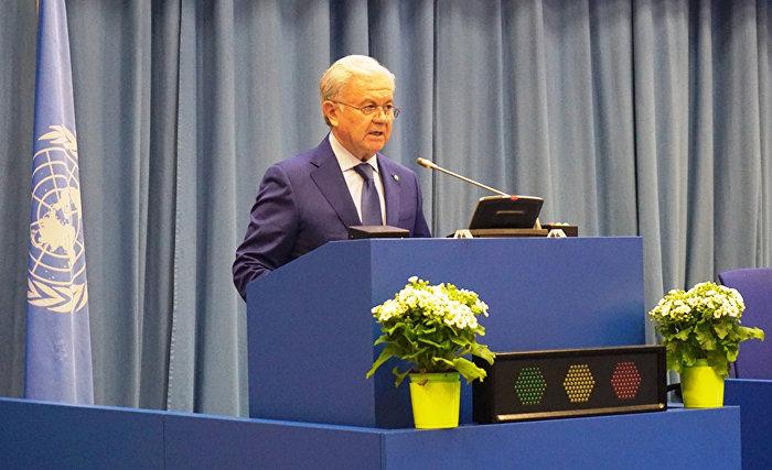 Генеральный секретарь ШОС выступил на пленарной сессии 61-й сессии Комиссии ООН по наркотическим средствам
