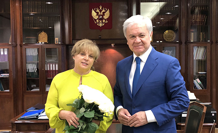 Генеральный секретарь ШОС встретился с Председателем ЦИК России